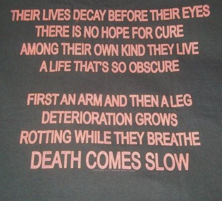 DEATH espalda