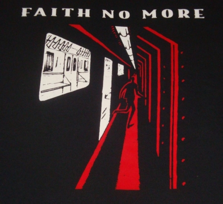 FAITH NO MORE Espalda