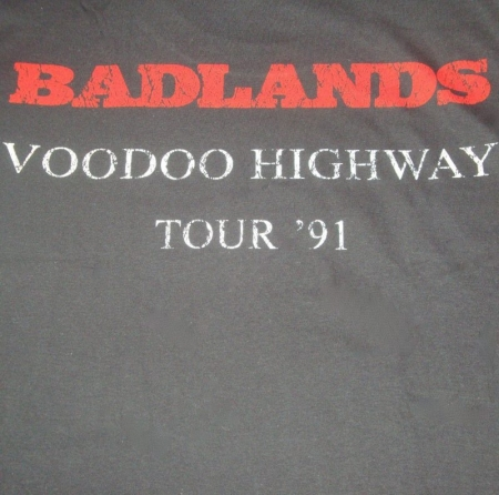 Badlands - Voodoo Highway Espalda