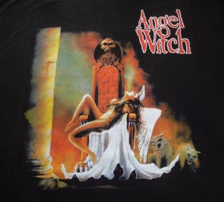 angel witch delante